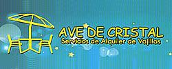 """SERVICIOS DE ALQUILER DE VAJILLAS """"AVE DE CRISTAL"""""""
