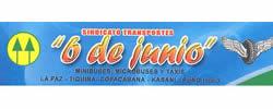 SINDICATO DE TRANSPORTES  6 DE JUNIO COPACABANA