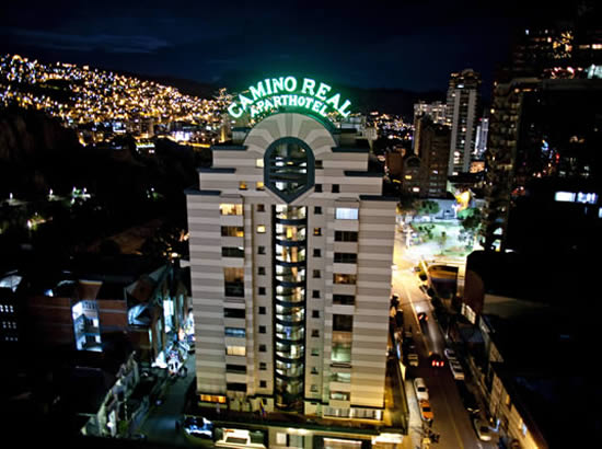 Camino real apart hotel spa hoteles apart for Apart hotel a la maison la paz bolivia
