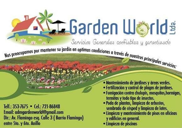 GARDEN WORLD LTDA.