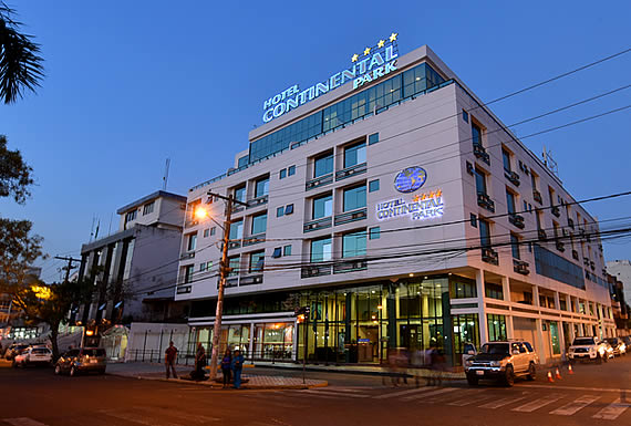 HOTEL CONTINENTAL PARK * * * *