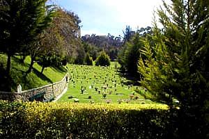 Santa maria casa de funerales l pidas funerarias for Cementerio jardin la paz bolivia