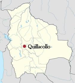 Ubicación de Quillacollo