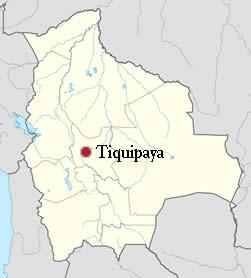 Ubicación de Tiquipaya