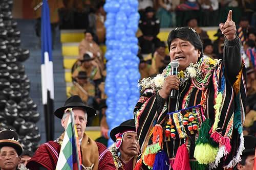 El Año Internacional de las Lenguas Indígenas es un gran avance en la lucha de los pueblos originarios: Morales
