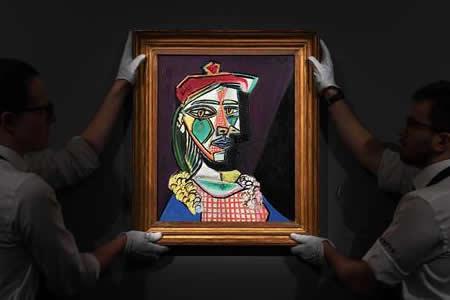 Un retrato de Marie-Thérèse Walter de Picasso alcanza los 56,2 millones
