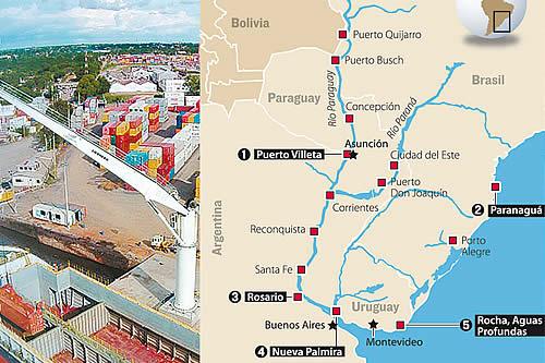Fallo de la CIJ acelera salida boliviana por Hidrovía hacia el Atlántico