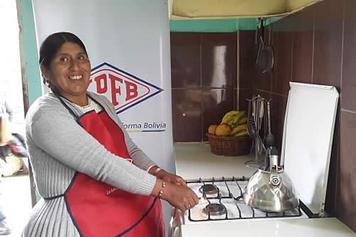 YPFB entrega gas a domicilio en zonas paceñas a favor de 5.260 habitantes