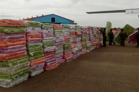 Gobierno coordina ayuda para damnificados por inundaciones en Santa Cruz