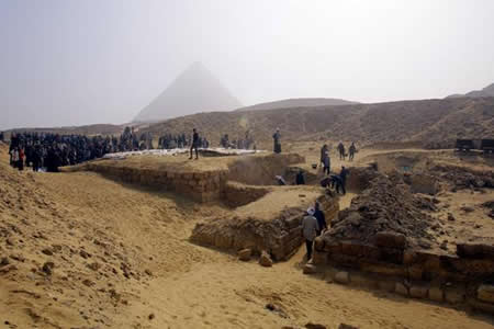 Hallada la tumba de una mujer del Alto Imperio egipcio no vinculada a realeza
