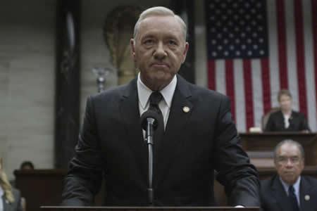 """""""House of Cards"""" reanudará su rodaje a comienzos de año sin Kevin Spacey"""