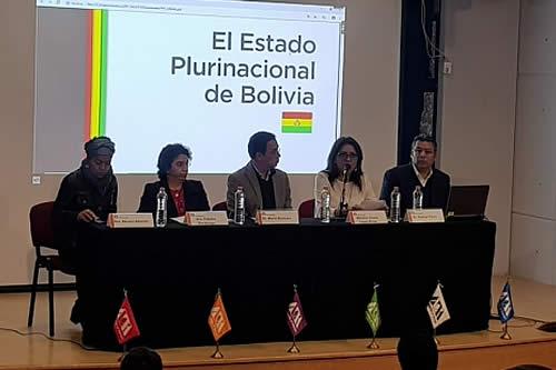López realza importancia de la nacionalización de los hidrocarburos en conferencia magistral en México