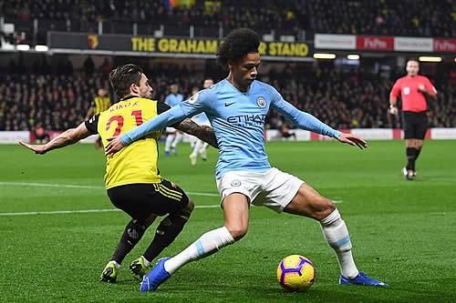 Resultado de imagen para El Manchester City saca pecho ante el Watford