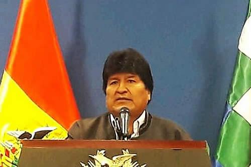 """Morales recuerda el """"impuestazo"""" de """"Goni"""" y Carlos Mesa que ocasionó el levantamiento del pueblo"""