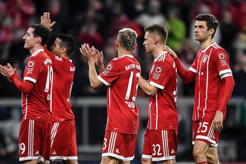 El Bayern, a un punto del título, visita al Augsburgo