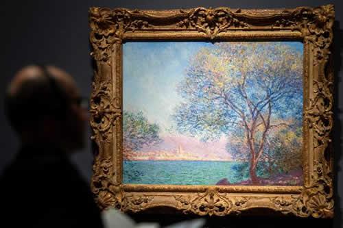 Monet refleja a caricias el impresionismo arquitectónico en su pintura