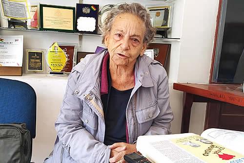 """Amparo Carvajal: Cuando me enteré que Jeanine se había presentado """"se me ha roto el alma"""""""