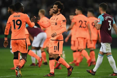 El Liverpool golea y agiganta la crisis del West Ham