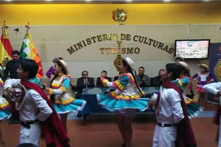 "Ministerio de Culturas presentó el ""V Festival Tupiza Internacional 2018"""