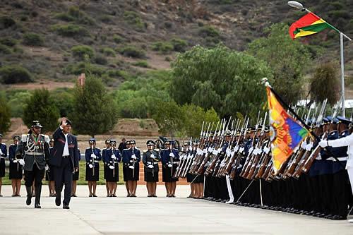 Presidente pide a nuevos sargentos de FFAA defensa de la soberanía y servicio al pueblo