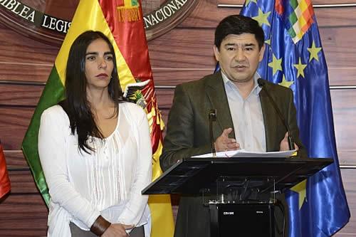 ALP afirma que Tribunal Electoral cumplió con la ley al habilitar al binomio Morales-García Linera