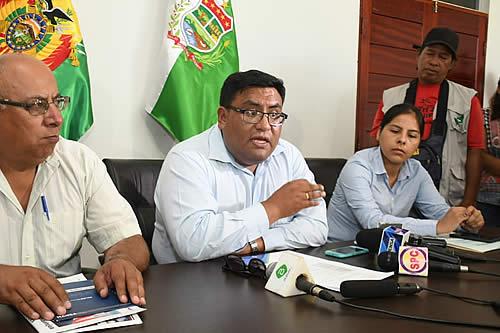 Ministerio de Medio Ambiente inspecciona proyecto de agua potable y alcantarillado en Cobija