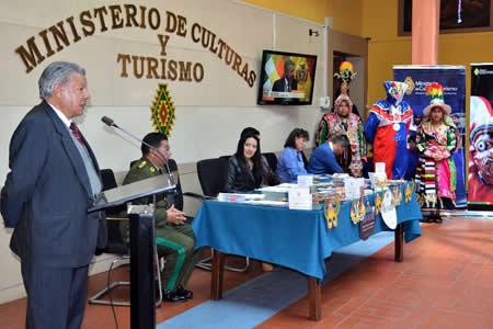 Ministerio de Culturas presenta 'Plan Carnaval de Oruro 2018'