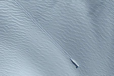 ¿Primero encuentran una 'megaciudad' en Antártida y ahora una nave espacial?