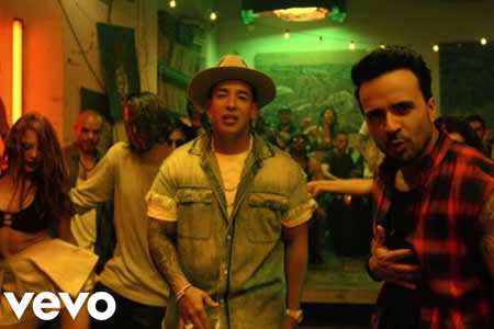 Siete músicos latinos copan los diez videoclips más vistos en YouTube en 2017