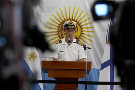 Armada niega llamadas de emergencia desde el submarino antes de desaparecer