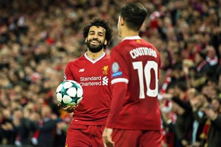 El Liverpool logra el quinto billete inglés para octavos con goleada