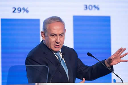 """Netanyahu agradece """"decisión justa y valiente"""" de Trump sobre Jerusalén"""