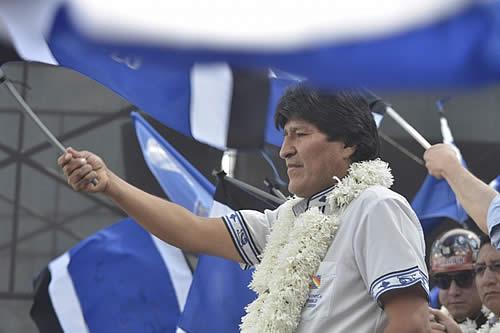 Gobierno dice que oposición busca desgastar la imagen de Morales y deslegitimar al Tribunal Electoral