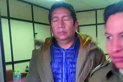 Envían a la cárcel al Alcalde de Uyuni por corrupción