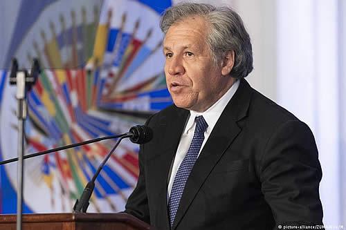 Almagro se presenta a la reelección como secretario general de la OEA