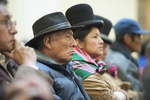 Morales anuncia incremento a la Renta Dignidad a partir de junio de 2019