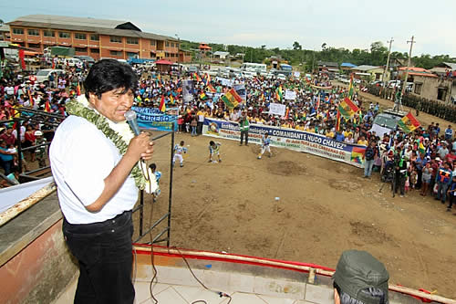 Morales dice que la derecha miente hasta a sus propias bases y no presenta propuestas para el país