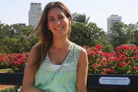 Un amor de película inmortalizado entre centenares de rosas en Buenos Aires
