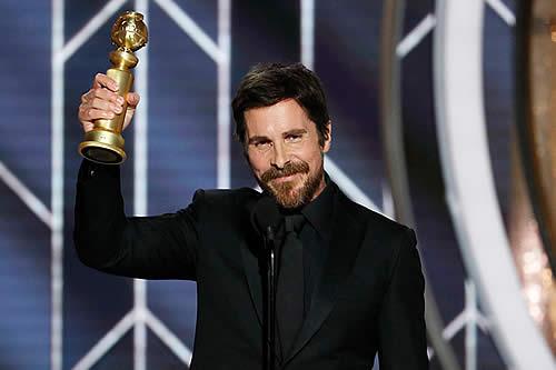 """""""Gracias a Satanás"""": El humor negro de Christian Bale marca los Globos de Oro 2019"""