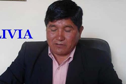 Aprehenden al alcalde de Patacamaya, Tiburcio Choque