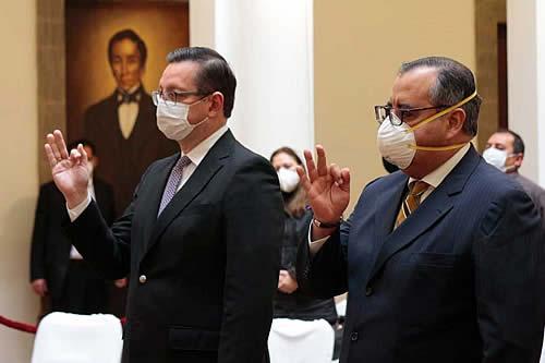 Oscar Ortiz es el nuevo Ministro de Economía y José Abel Martínez asume en Desarrollo Productivo