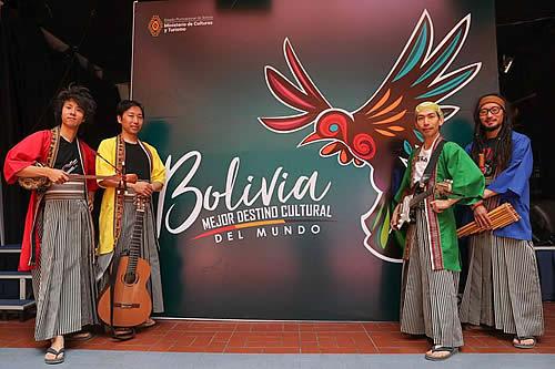 Wayra JaponAndes, talento que une el folclore boliviano con la cultura nipona