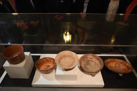 Guatemala exhibe 17 piezas arqueológicas de su memoria histórica recuperada