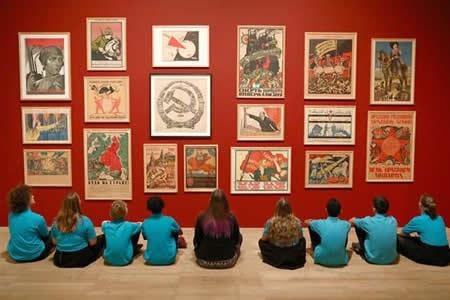 La Tate marca la evolución de la cultura visual en la Revolución de Octubre
