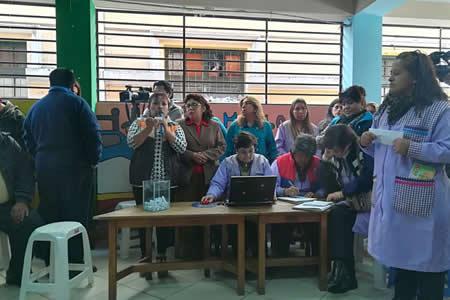 Ministerio de Educación sorteó 1.500 cupos en colegios de alta demanda de La Paz