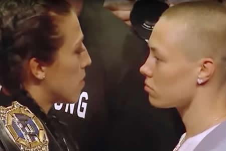 Luchadora de UFC somete a la campeona que le hizo 'bullying'