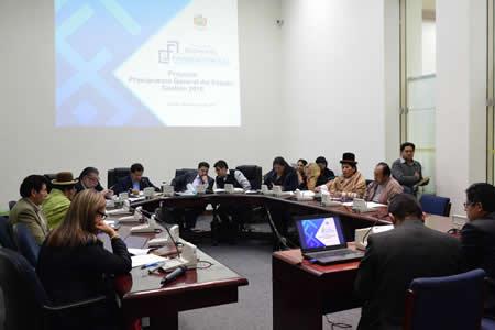 Comisión aprueba Presupuesto General del Estado 2018 y lo remite al pleno de la Cámara Baja