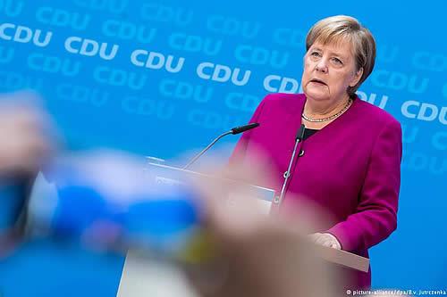 CDU lista para elegir sucesor de Merkel al frente del partido