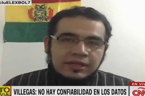Ingeniero Edgar Villegas se postula para vocal del TSE