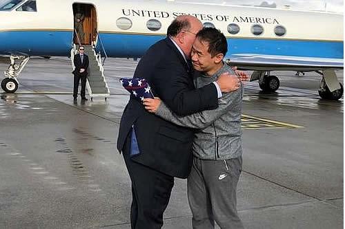 EE.UU. e Irán intercambian presos y Trump lo agradece